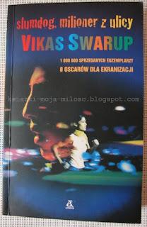okładka książki Slumdog milioner z ulicy