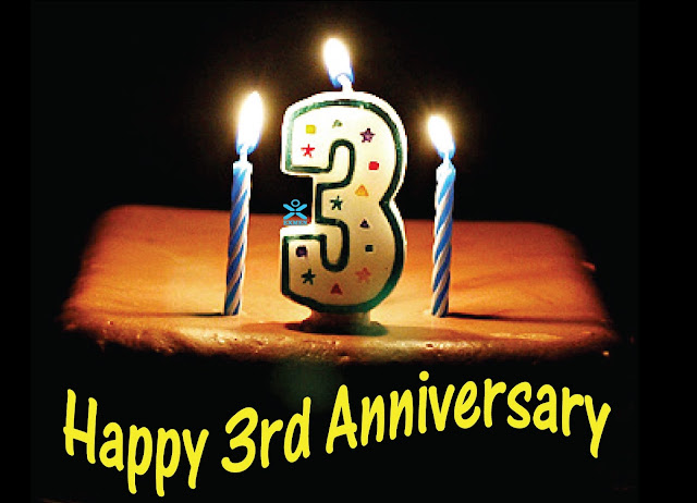 Sourajit.com Is Now 3 Years Old