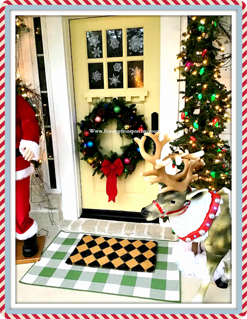 Christmas Front Porch-From My Front Porch To Yours