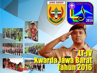 Lomba Tingkat Regu Penggalang tingkat Kwartir Daerah Jawa Barat atau LT IV  LT IV Kwarda Jawa Barat Tahun 2016