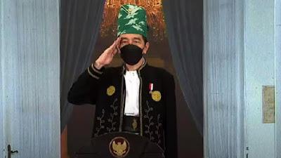 Presiden Joko Widodo Ajak Seluruh Pihak Aktif Perkokoh Pancasila