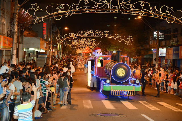 Não percam! Últimas apresentações da Cantata e da Parada de Natal em Registro-SP
