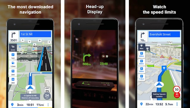 أفضل تطبيق GPS والملاحة للاندرويد