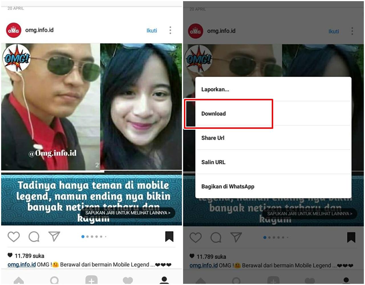 Cara Download Foto dan Video Dari Instagram Tanpa Aplikasi ...