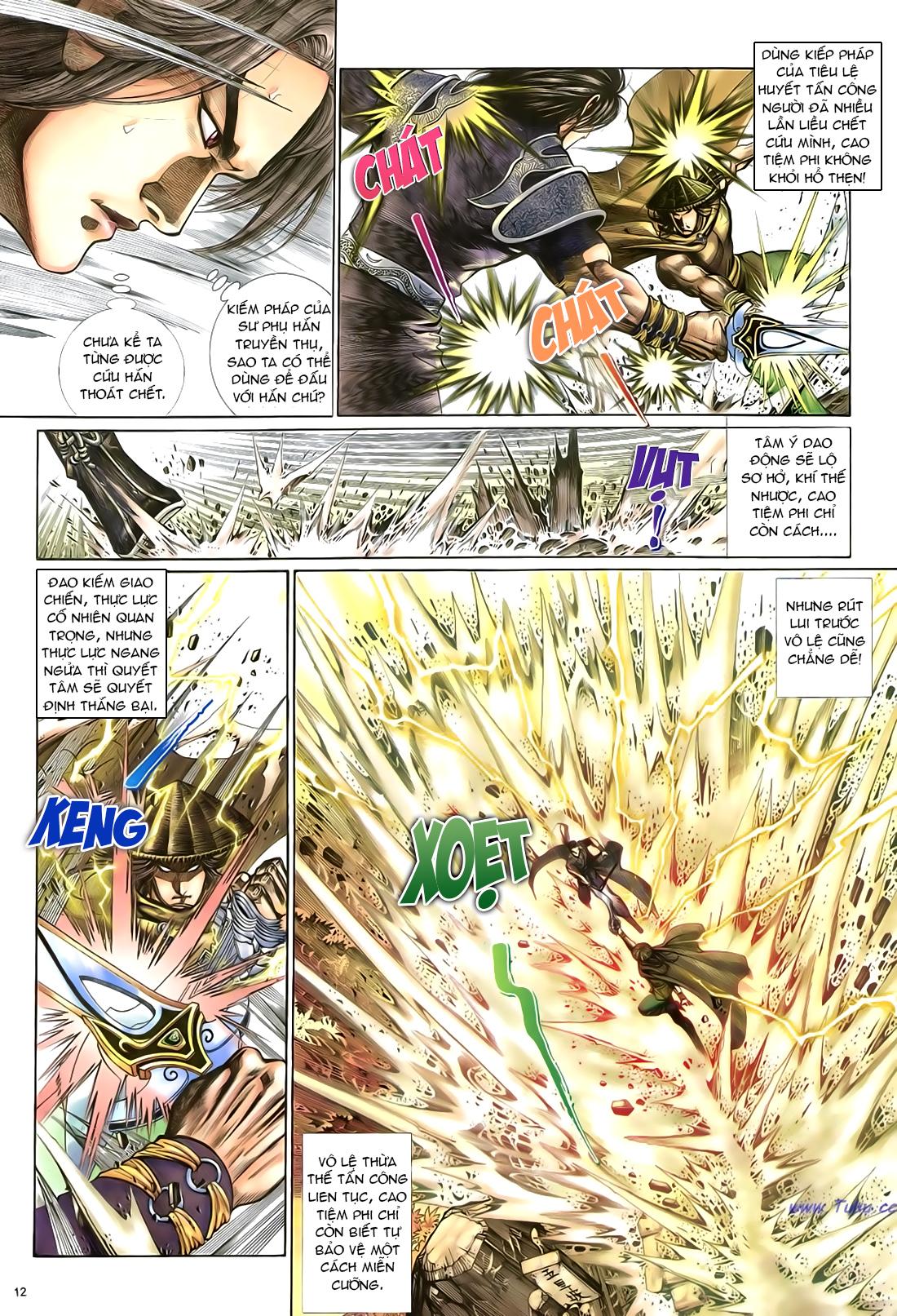 Anh hùng vô lệ Chap 21 trang 13