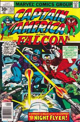 Captain America and the Falcon #213