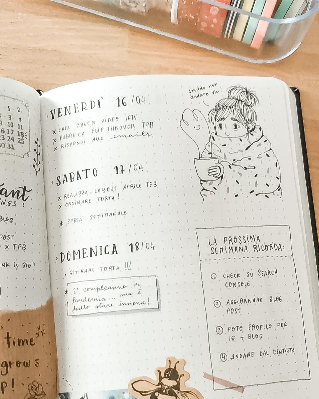 TravelPaperBook: il Bullet Journal che viaggia per l'Italia!