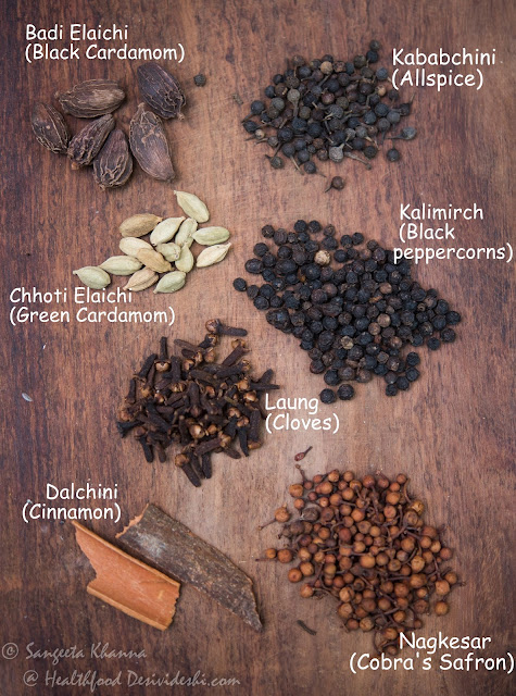 spices for chyawanprash