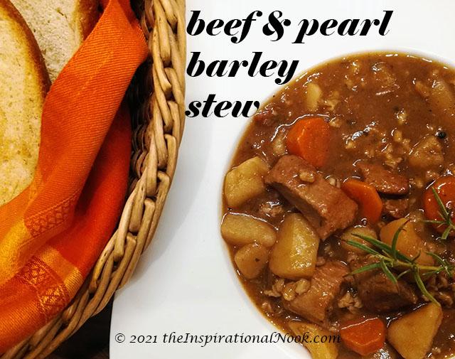 Best Beef Barley Stew, beef and pearl barley stew, beef casserole with pearl barley, beef and pearl barley casserole, beef stew with pearl barley, irish beef barley stew, beef barley stew dutch oven, irish stew pearl barley