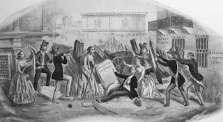 battistotti sassi barricate cinque giornate milano 1848