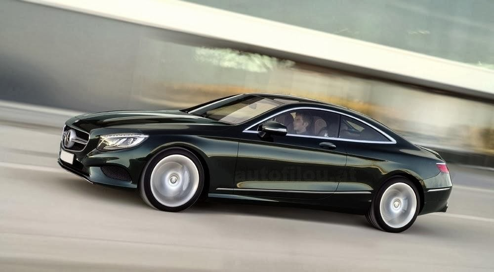 Official Photo of the Mercedes S-Class Coupe (CL-Class)