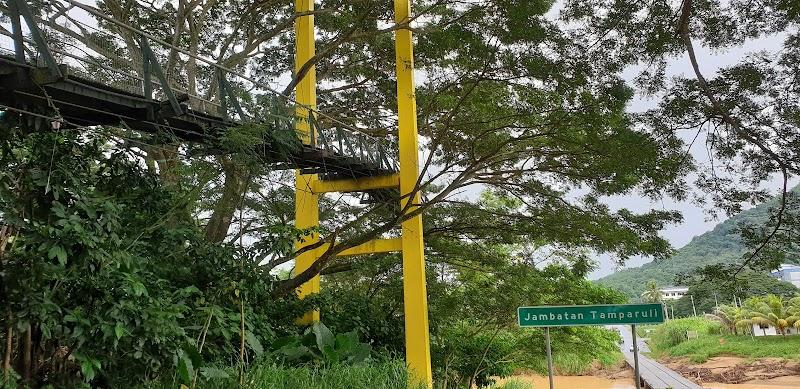 Jalan-Jalan di Jambatan Gantung Tamparuli Sabah 2020