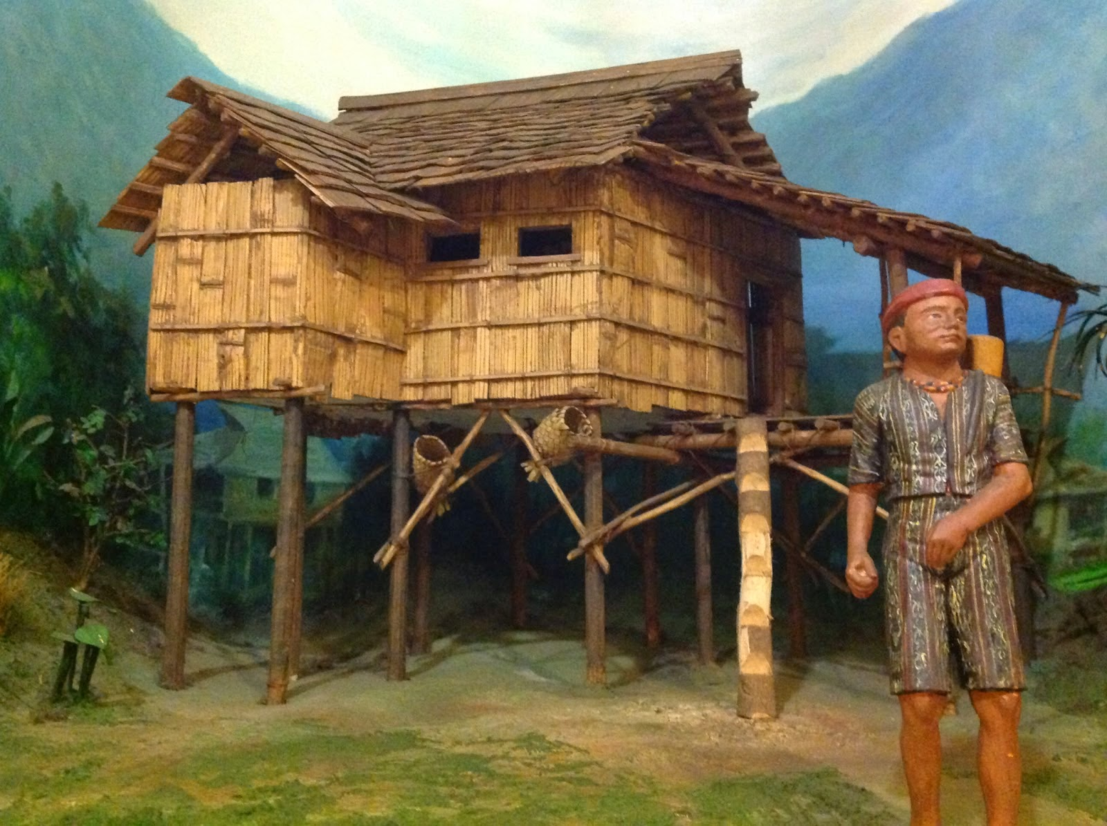 100 Mile House Indigenous Houses Of The Philippines