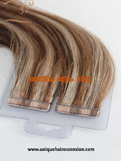 tape in extensions stock