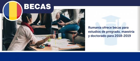 Rumania Ofrece Becas Para Estudios De Pregrado Maestr A Y Doctorado