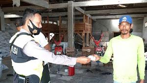 Binmas Tegal Sumedang Rancaekek Polresta Bandung Berikan Imbauan 3M