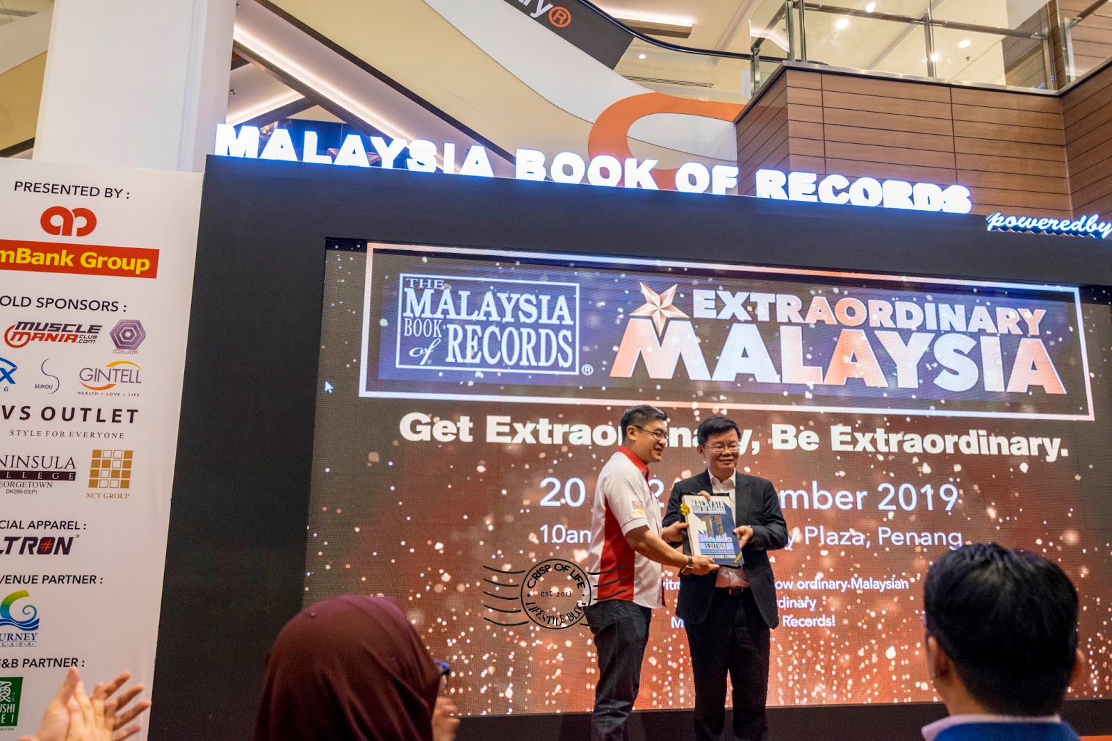 Records Breaking Attempts at MBR Live! 2019 by Malaysia Book of Records @ Gurney Plaza, Penang