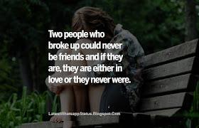 Sad Love Quotes and Short Status