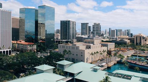 Aloha Tower Honolulu Hawaii