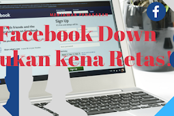 Facebook Down Bukan Karena Diretas !
