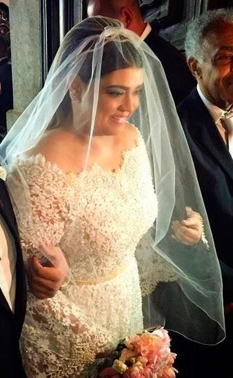 Preta Gil vestido de noiva