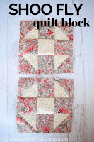 two quilt blocks