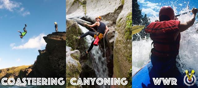 Coasteering, Canyoning & White Water Rafting
