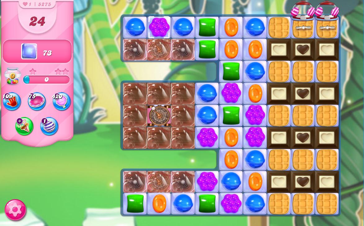 Candy Crush Saga level 5275