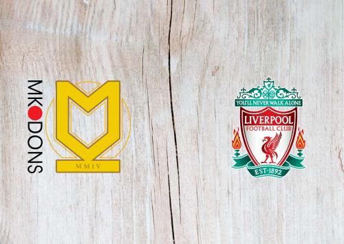 Milton Keynes Dons vs Liverpool -Highlights 25 September 2019