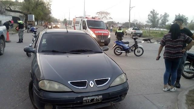 Alberdi: En la misma Avenida hubo dos accidentes