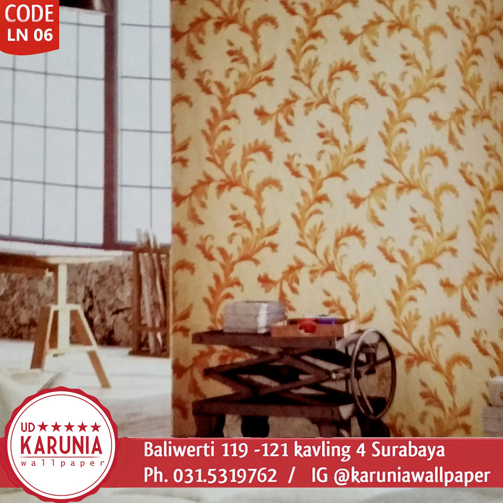 jual wallpaper dinding gold surabaya