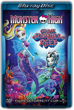 Monster High - A Assustadora Barreira de Coral Torrent 2016 720p e 1080p BluRay Dual Áudio