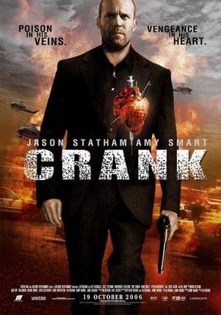 Crank 2006 Dual Audio Hindi 300MB BluRay 480p