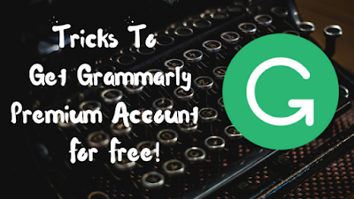 grammarly free premium account