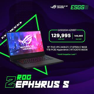 ROG Zephyrus S GX502GW-AZ055T