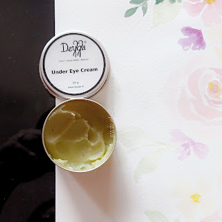 Review of Deyga under eye cream
