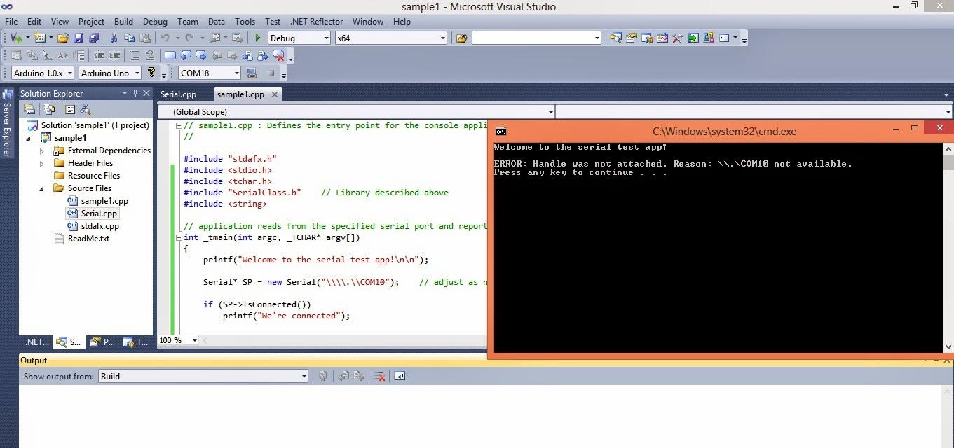 Visual Foxpro Serial Communication Port