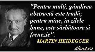 Citate Martin Heidegger