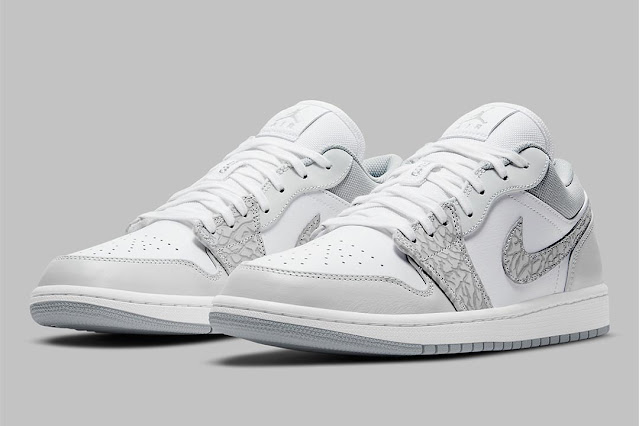 Air Jordan 1 Low Elephant