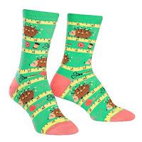 Sewing themed socks
