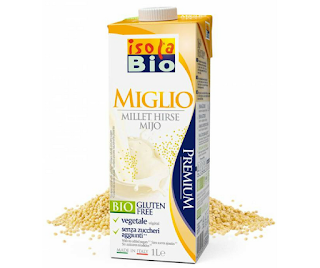 Bebida vegetal de millet, milhete ou painço