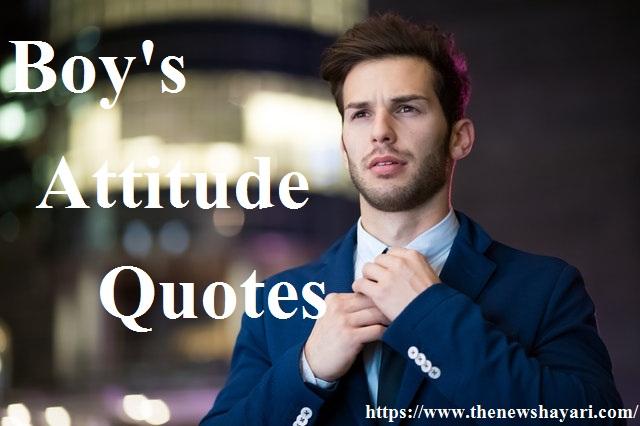 Attitude Quotes for Boy || Caption for Boys Attitude 2020