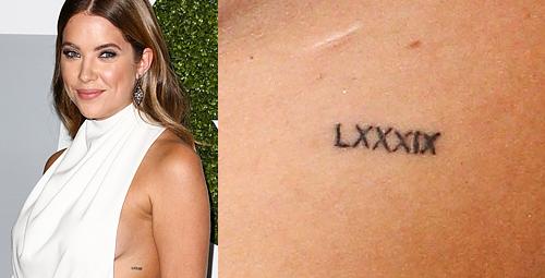 Blog O Pretty Little Liars Tatuaże Ashley Benson