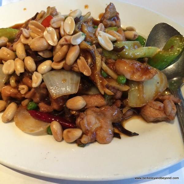 kung pao chicken at Yet Wah in San Rafael, California