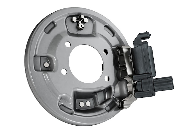 The drum brake EPB-Si is a closed, sealed system and therefore less prone to corrosion. With a lifetime service interval of up to 150,000 kilometers, the drum brake is an optimal solution for electric vehicles.