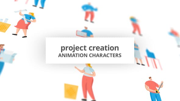 Project Creation – Character Set[Videohive][After Effects][29102379]