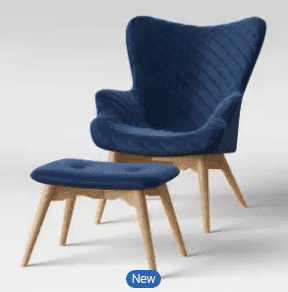 $210, Project 62 Ducon Modern Stitched Accent Chair w/ Ottoman