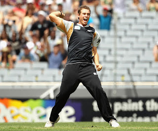 Tim Southee T20I Hat-trick Highlights