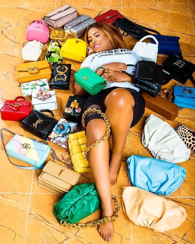 Billionaire Blogger Lindaikeji celebrates birthday in style.
