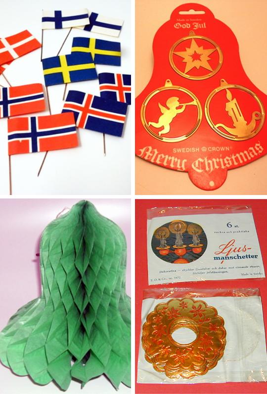 Gammeldags julpynt, nytillverkat och gammalt från 40-50-talet! | www.var-dags.rum.se